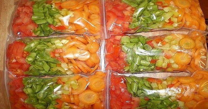 небольшое, заморозить овощи на зиму рецепты с фото нашем сайте можете