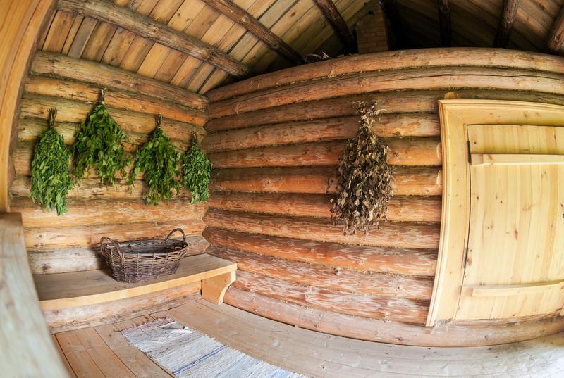 Современная отделка бани: уютная зона для релаксации