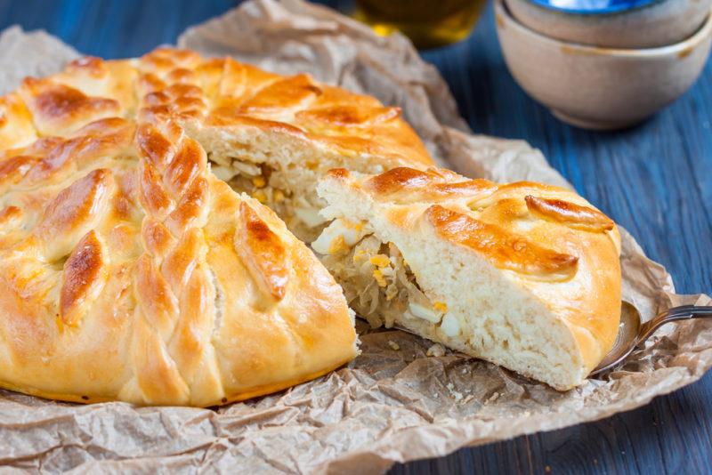 Шикарный вкусный пирог из капусты за считанные минуты