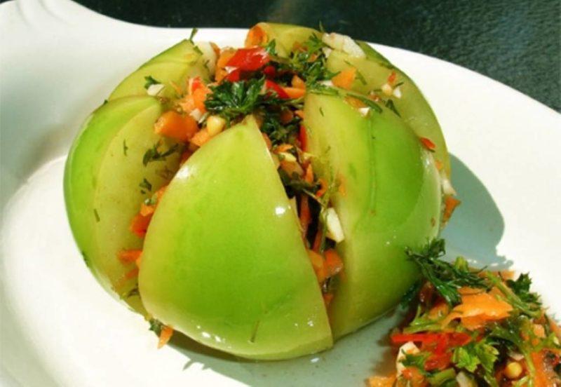Помидоры готовим не только красные, но и зеленые. Рецепты закусок