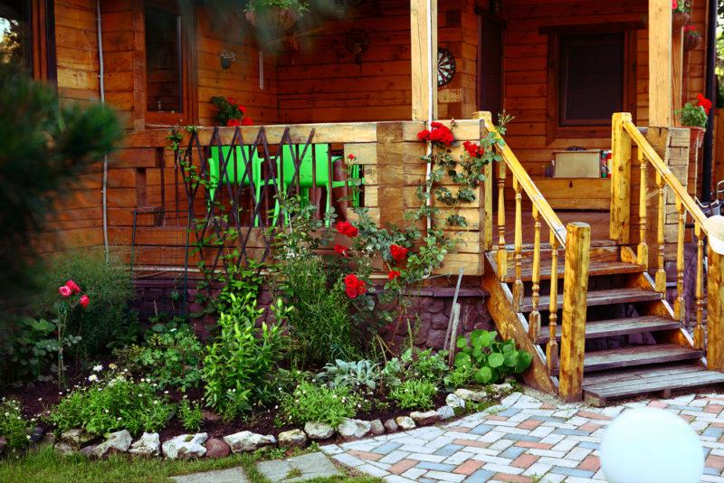 Творческое оформление для сада